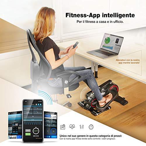 allenamento in ufficio con app