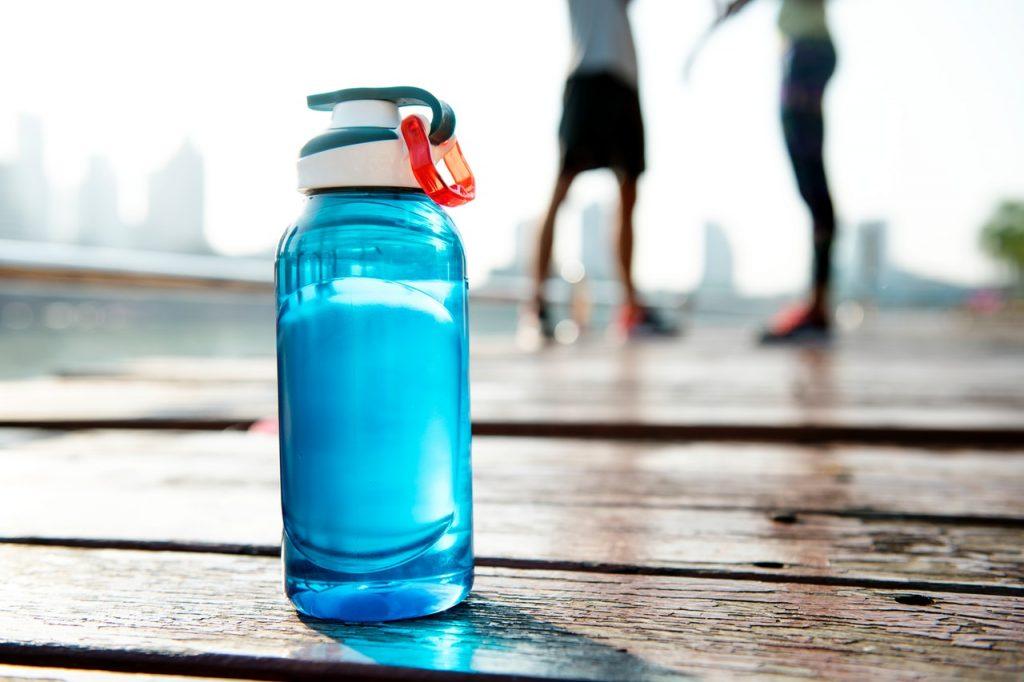 bottiglie d'acqua sostituto