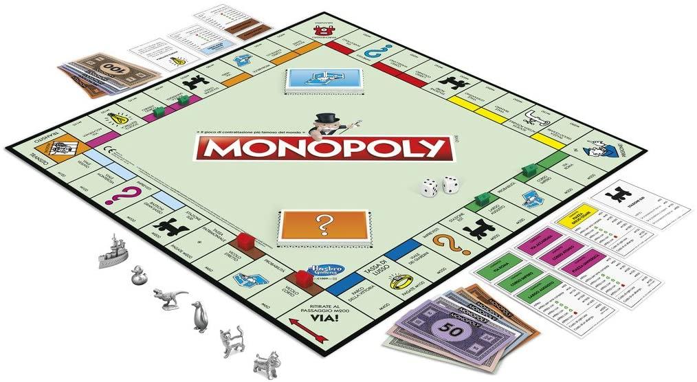 Monopoly elementi gioco