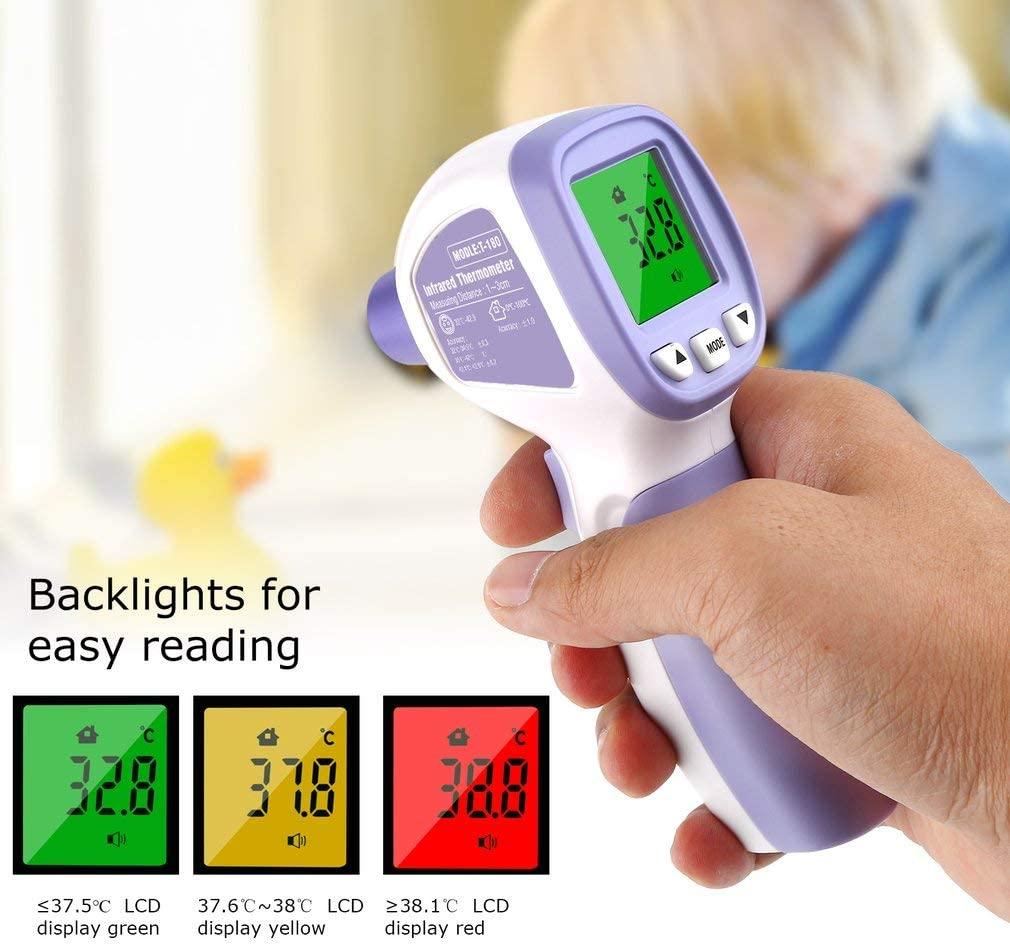 termometro frontale con memoria