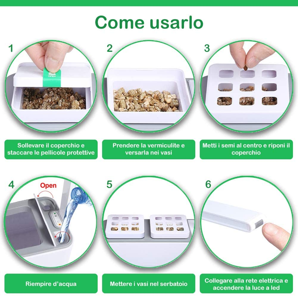 coltivare in casa serra idroponica come usarla