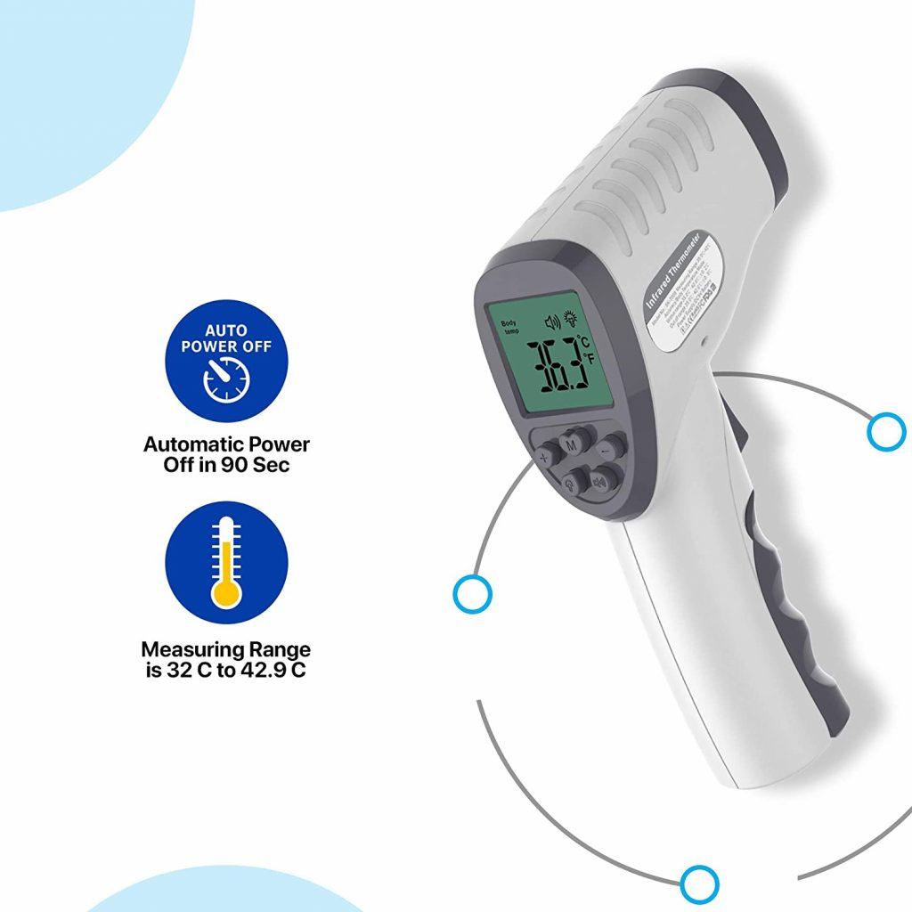 termometro a distanza per controlli covid