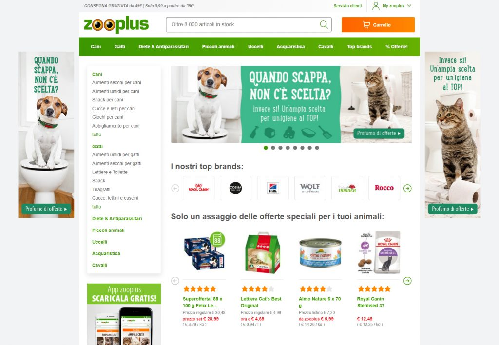 zooplus e-commerce