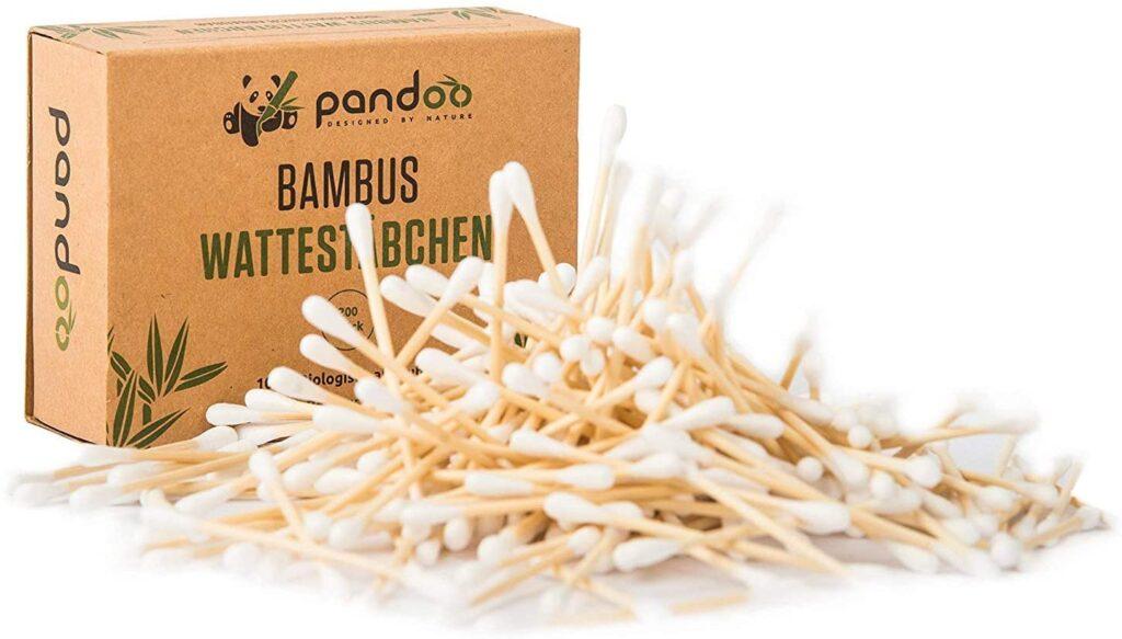 cotton fioc in bambu